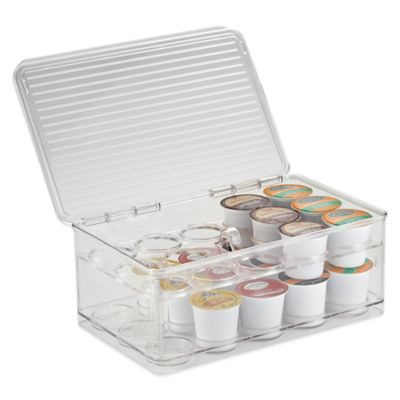 InterDesign® Cabinet Binz™ Stackable Coffee Pod Storage Box