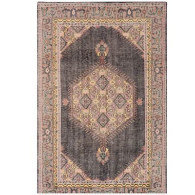 Surya Plauen 8-Foot x 11-Foot Area Rug in Charcoal