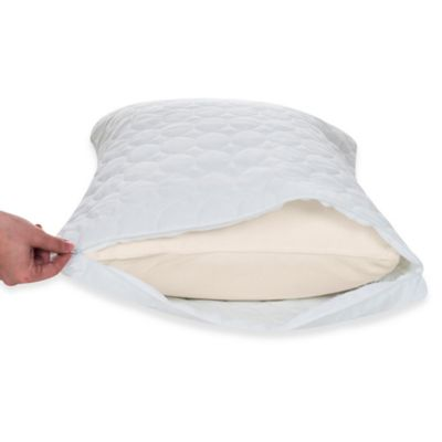 Remedy Bed Bug and Dust Mite Queen Pillow Protector in White (Set of 2)