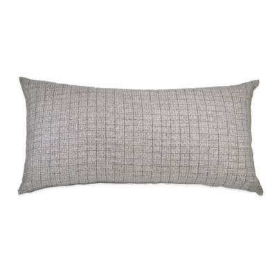 DKNY Frequency Oblong Throw Pillow in Grey