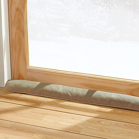 Door draft blocker bed bath beyond for Door draft stopper