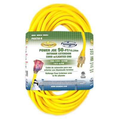 Snow Joe Power Joe 14-Gauge 50-Foot Extension Cord