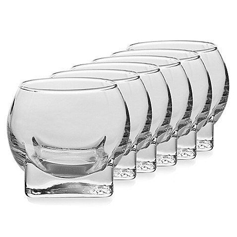 Ten Strawberry Street Carat 4 1/4-Ounce Shooters (Set of 6)
