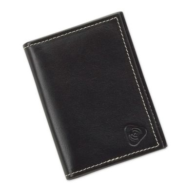 RFID Blocking Leather Credit Card and ID Holder