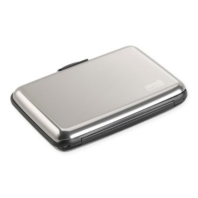 RFID Blocking Aluminum Credit Card Holder