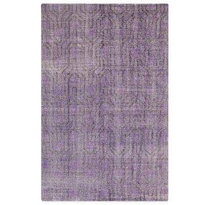 Style Statements Frisia 2-Foot x 3-Foot Accent Rug in Plum