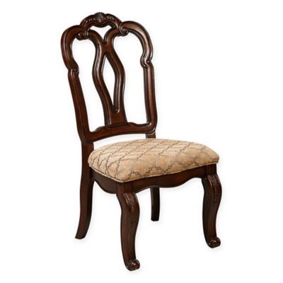 Pulaski San Marino Side Chairs in Brown (Set of 2)