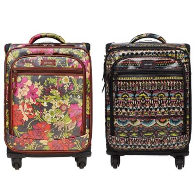Sakroots Artist Circle 21-Inch 4-Wheel Carry-On Spinner in Neon One World