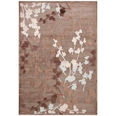 Jaipur Fables Enchanted 2-Foot x 3-Foot Area Rug in Grey/Black