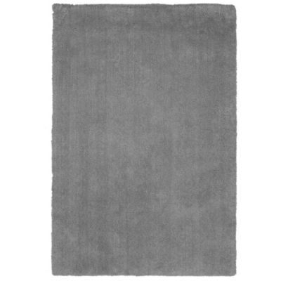 KAS Bliss Solid Shag 7-Foot 6-Inch x 9-Foot 6-Inch Rug in Grey
