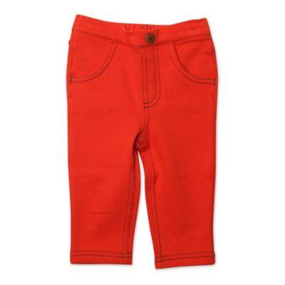 Zutano® Size 12M Matchstick Pant in Mandarin