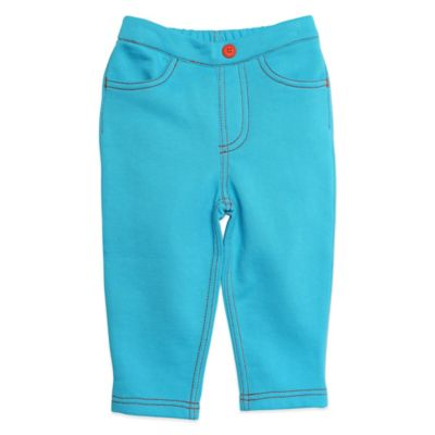 Zutano® Size 12M Matchstick Pant in Pool Blue