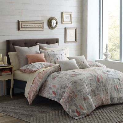 Under the Canopy® Lover Organic Cotton Reversible King Duvet Cover Set