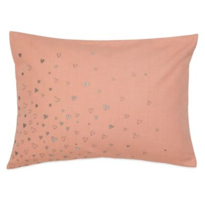 Under the Canopy® Lover Hearts Organic Cotton Oblong Throw Pillow