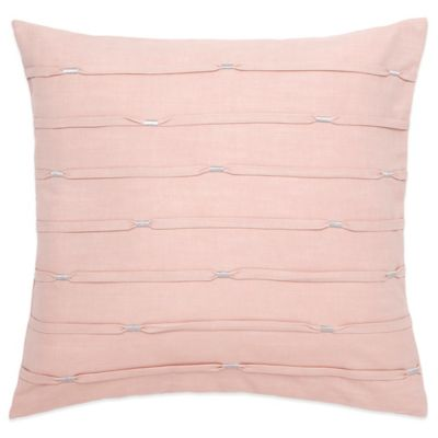 Under the Canopy® Goddess Radiance Organic Cotton Pleat Square Throw Pillow