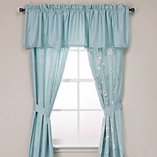 Under The Canopy Metamorphosis Window Curtain Panel And Valance Bed Bath Beyond