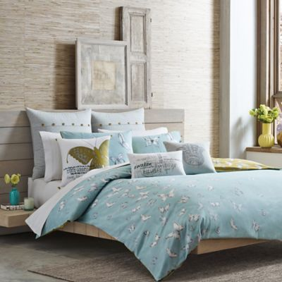 Under the Canopy® Metamorphosis Organic Cotton Reversible Twin Comforter Set