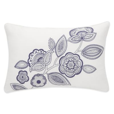 Sonoma Embroidered Floral Breakfast Throw Pillow