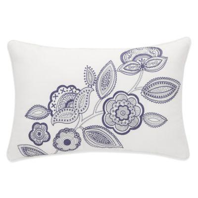 Floral Cotton Pillow Cover