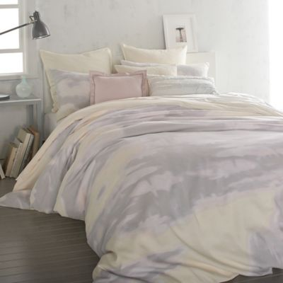 DKNY Mirage King Duvet Cover in Butter