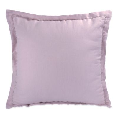 DKNY Mirage Square Throw Pillow in Orchid