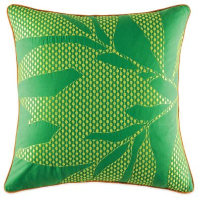 KAS® Lima Square Throw Pillow in Lime