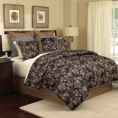 Croscill Bedding in Taupe