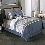 Covington 8-Piece Full Comforter Set in Blue