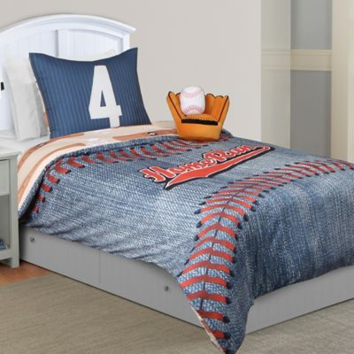 All Star Reversible Full 6-Piece Comforter Set in Blue