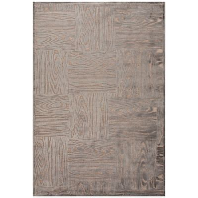 Jaipur Fables Engrain 7-Foot 6-Inch x 9-Foot 6-Inch Area Rug Taupe/Grey