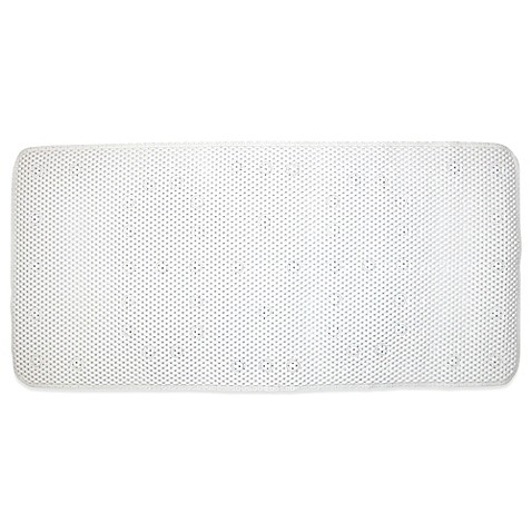 Ginsey Cushioned Bath Mat in White