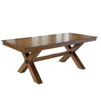Hillsdale Park Avenue Trestle Regular Dining Table