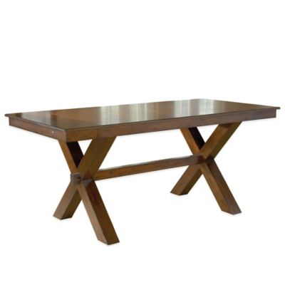 Hillsdale Park Avenue Counter Height Trestle Dining Table