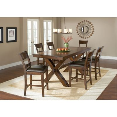 Hillsdale Park Avenue 7-Piece Counter Height Dining Table and Stools