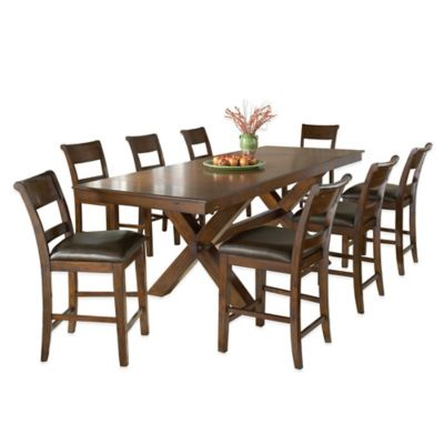 Hillsdale Park Avenue 9-Piece Counter Height Dining Table and Stools