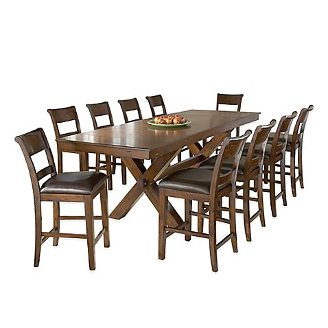Buy hillsdale park avenue 11 piece counter height dining for 11 piece dining table