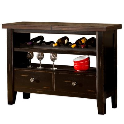 Hillsdale Killarney Server in Black/Brown