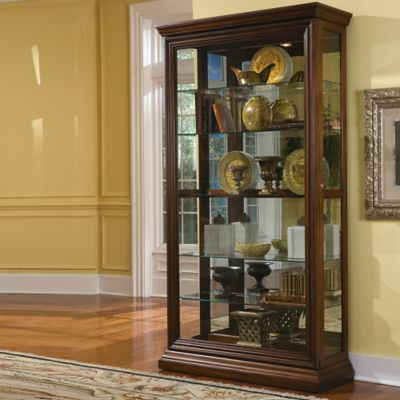 Pulaski Edwardian 2-Way Sliding Door Curio
