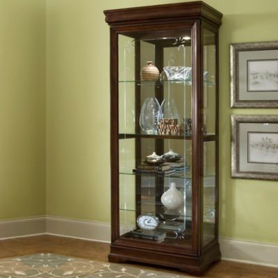 Pulaski Curio in Medium Gallery Brown