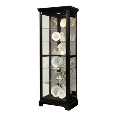 Pulaski Curio in Gloss Black