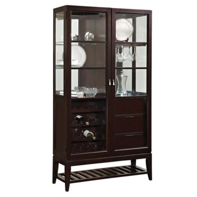 Pulaski Multifunctional Curio in Sable
