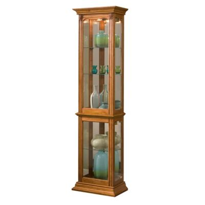 Pulaski Curio in Estate Oak