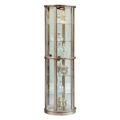 Pulaski Glass Door Curio