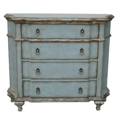 Blue Accent Chest