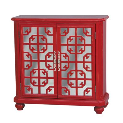 Pulaski Accent Chest in Bright Red