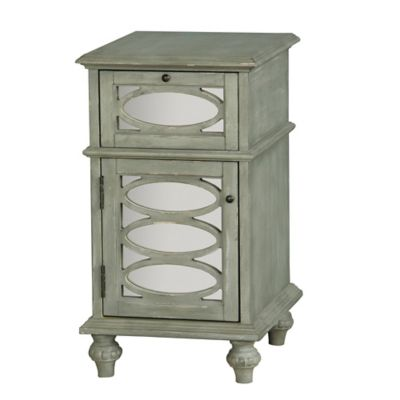 Pulaski Accent Chest in Grey and Green