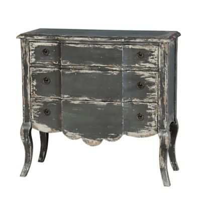 Pulaski Distressed Accent Chest in Grey