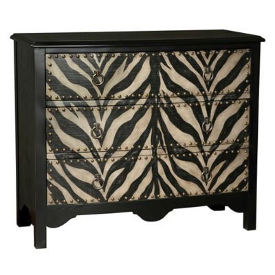 Pulaski Accent Chest in Zebra Pattern