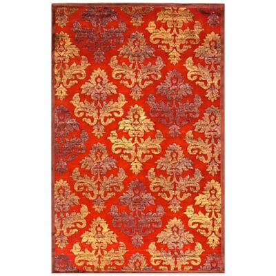 Jaipur Fables Majestic 2-Foot x 3-Foot Area Rug in Taupe/Green
