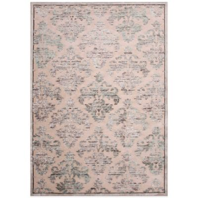 Jaipur Fables Majestic 7-Foot 6-Inch x 9-Foot 6-Inch Area Rug in Ivory/Grey